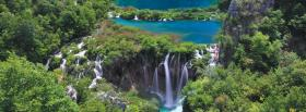 free plitvice lakes nature facebook cover