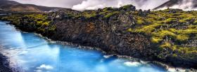 free iceland landscape nature facebook cover
