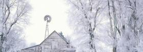 free white house trees nature facebook cover