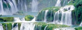 free great waterfalls nature facebook cover