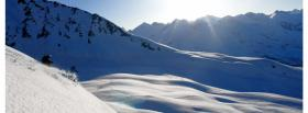 free mountains of snow nature facebook cover