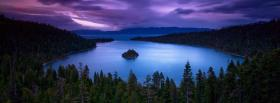 free emerald bay nature facebook cover