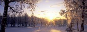 free sun beams nature facebook cover