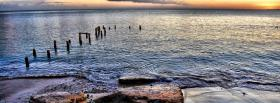 free sea wood nature facebook cover