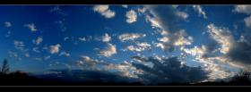 free obscure clouds nature facebook cover