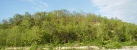 free mountain of trees nature facebook cover