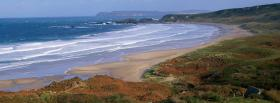 free grass and beach nature facebook cover