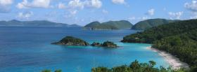 free st johns beach nature facebook cover
