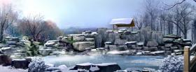 free nature winter facebook cover