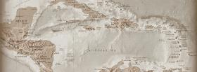 free america central map nature facebook cover