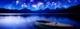 free fireworks and scenery nature facebook cover