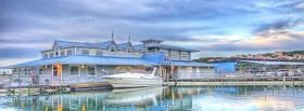 free nature boat sky facebook cover