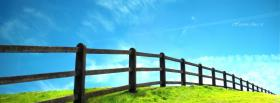free wooden fence nature facebook cover