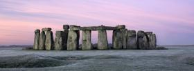 free stonehenge at dawn nature facebook cover
