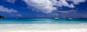 free marvelous beach nature facebook cover