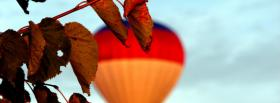 free ballon out of focus facebook cover