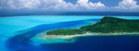 bora bora nature facebook cover