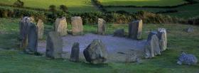 free drombeg stone circle nature facebook cover