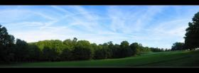 free green simple field nature facebook cover