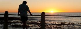 free looking at the beach facebook cover