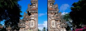 free bali walls and nature facebook cover