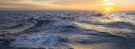 free little waves nature facebook cover