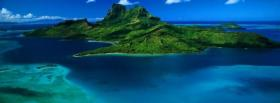 free beautiful island nature facebook cover