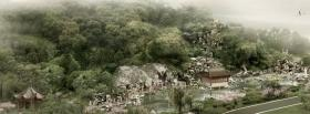 free chinese landscape nature facebook cover