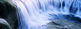 free incredible waterfalls nature facebook cover