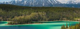 free emerald lake nature facebook cover