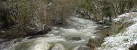 free cold climat nature facebook cover