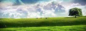 free huge clouds nature facebook cover