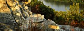 free rocky mountain forest nature facebook cover