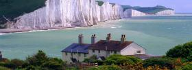 free seven sisters cliffs nature facebook cover