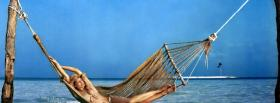 free hammock beach nature facebook cover