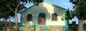 free church in nature facebook cover