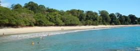 free costa rica beach nature facebook cover