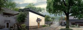 free village and nature facebook cover