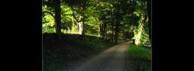 free pathway in nature facebook cover