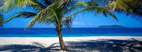 free shade beach nature facebook cover