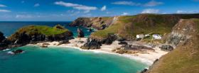 free skiathos beach nature facebook cover