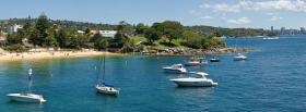 free watson bay nature facebook cover