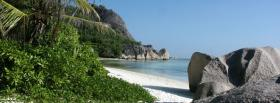 free rocky mountains beach nature facebook cover