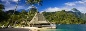free tropical beach nature facebook cover
