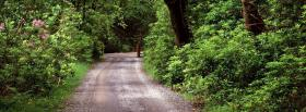 free peaceful trail nature facebook cover