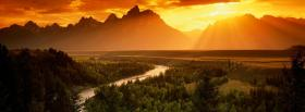 free snake river nature facebook cover