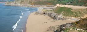 free three cliffs bay nature facebook cover