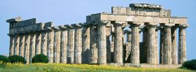 free selinunte sicily nature facebook cover