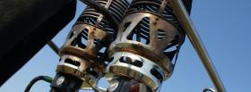 free parachute equipment nature facebook cover