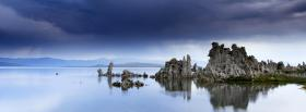 free rocks peace water nature facebook cover